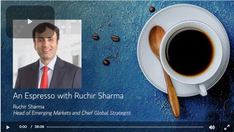 An Espresso with Ruchir Sharma