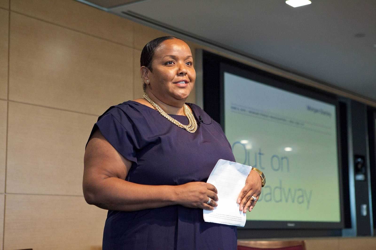 Nadia Jones, Out On Broadway, Morgan Stanley Wealth Management