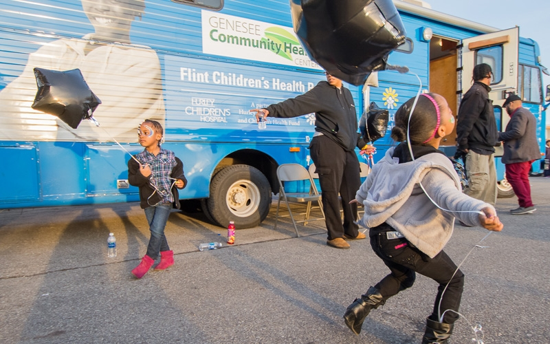 Flint Children's Health Project, Morgan Stanley Wealth Management