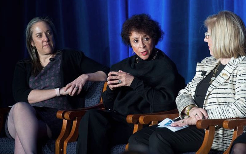 Julie Katzman, Sheila Johnson, Shelly Porges, Morgan Stanley Wealth Management