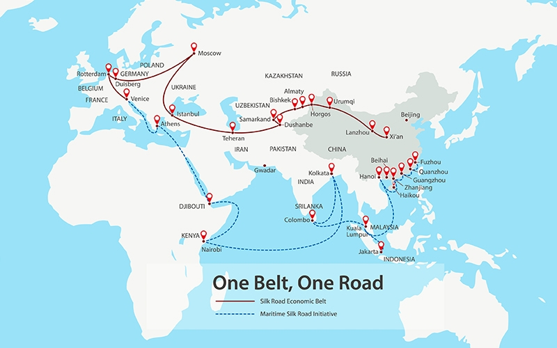 Inside China S Plan To Create A Modern Silk Road Morgan Stanley
