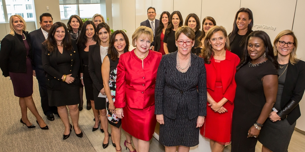 LIFT, Women's Business Development Council, Morgan Stanley Wealth Management