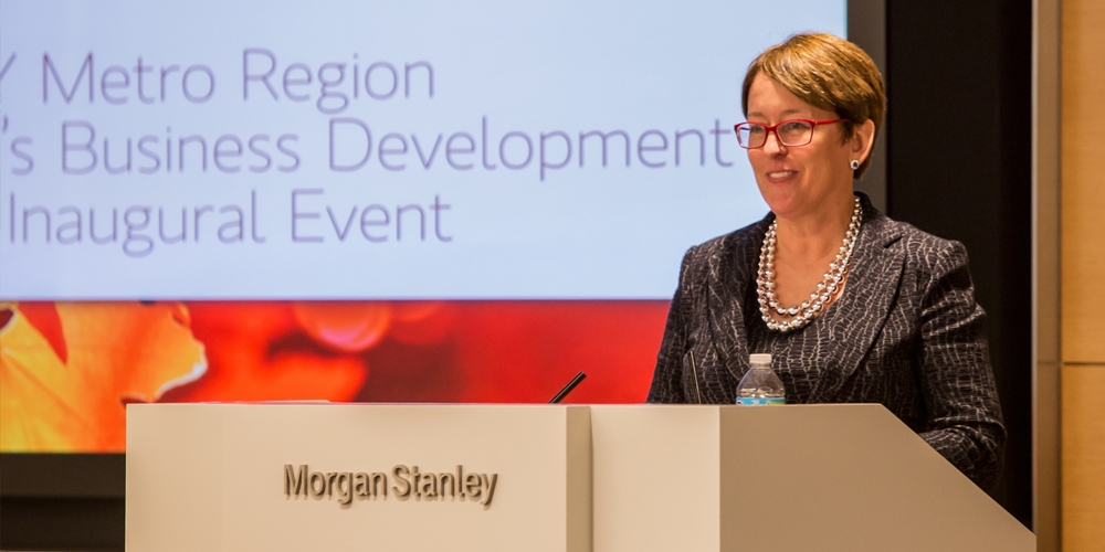 Shelley O'Connor, Managing Director, Head of Field Management, Morgan Stanley Wealth Management