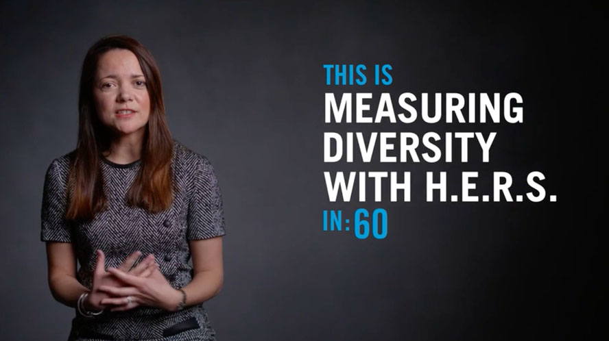 VIDEO: Measuring Diversity With H.E.R.S.